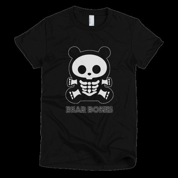 BB American Apparel Ladies Fit – Bear Bones #1