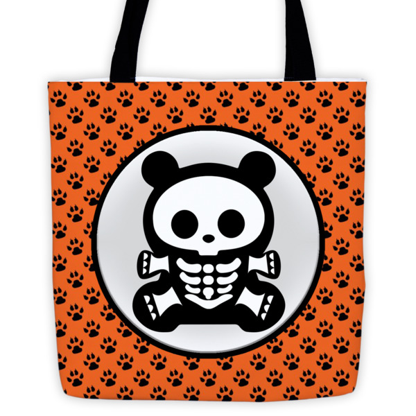 BB – Tote – Orange Paw