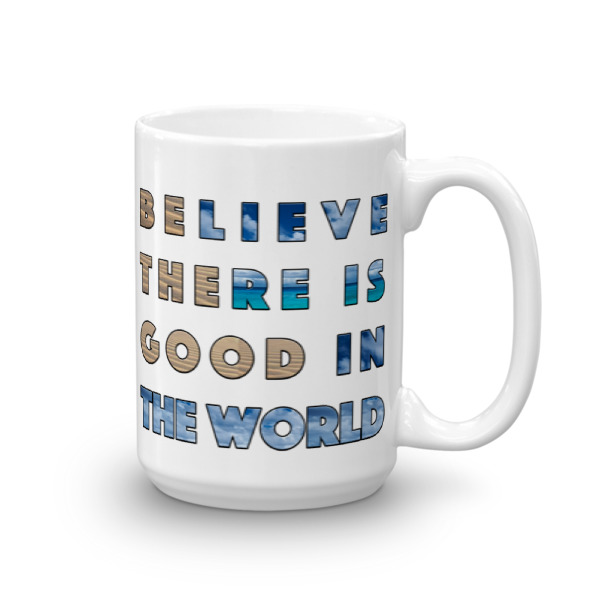 WB – 15 oz Mug – Be The Good