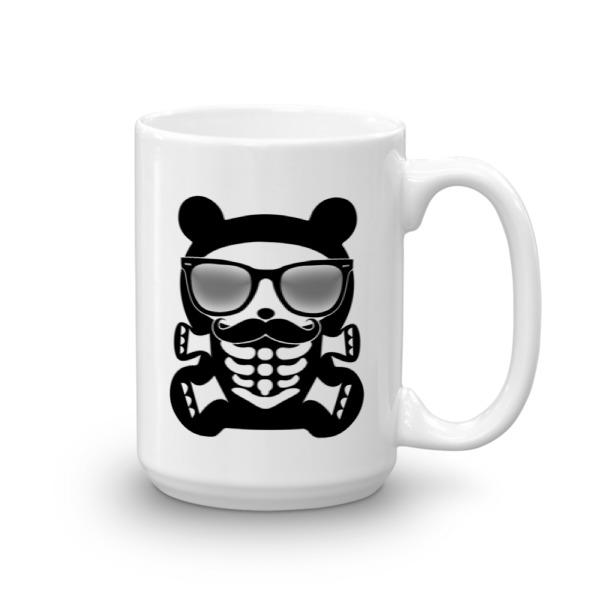 HB – 15 oz Mug – Hipster Bear