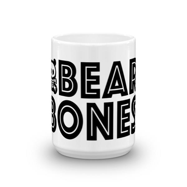 BB – 15 oz Mug – Bear Bones Logo