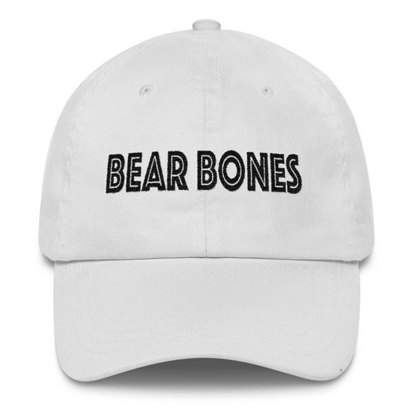 BB – Low Profile Cap – Bear Bones Logo