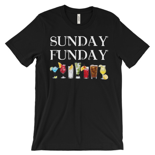 TB SUNDAY FUNDAY – Unisex Fitted Tee