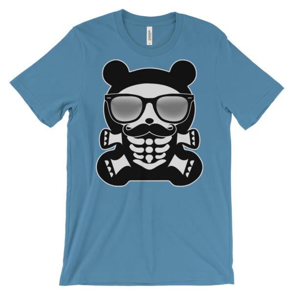 HB HIP BEAR – Unisex Fitted Tee