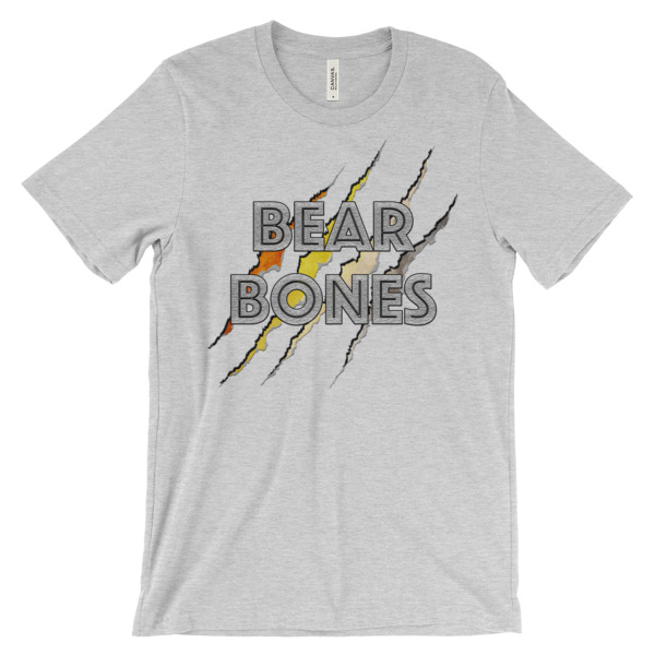 RB BEAR CLAW – Unisex Fitted Tee