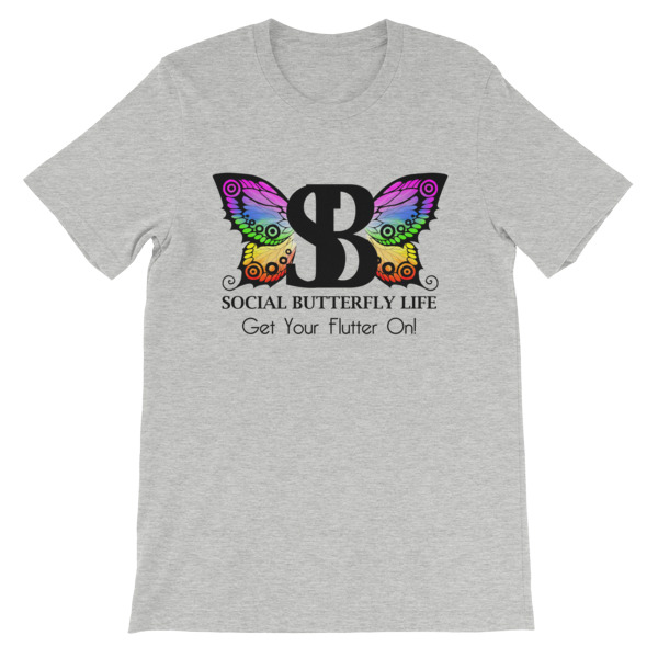 WB BUTTERFLY – Unisex Fitted Tee