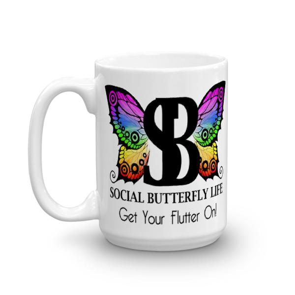 WB BUTTERFLY – 15 oz Mug
