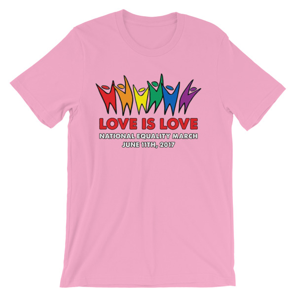 RB LOVE IS LOVE – Unisex Fitted Tee