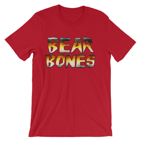 RB BEAR BONES JAGGED – Unisex Fitted Tee