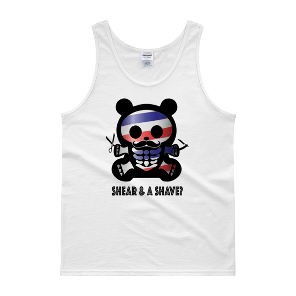 CU BARBER BEAR – Classic Fit Tank