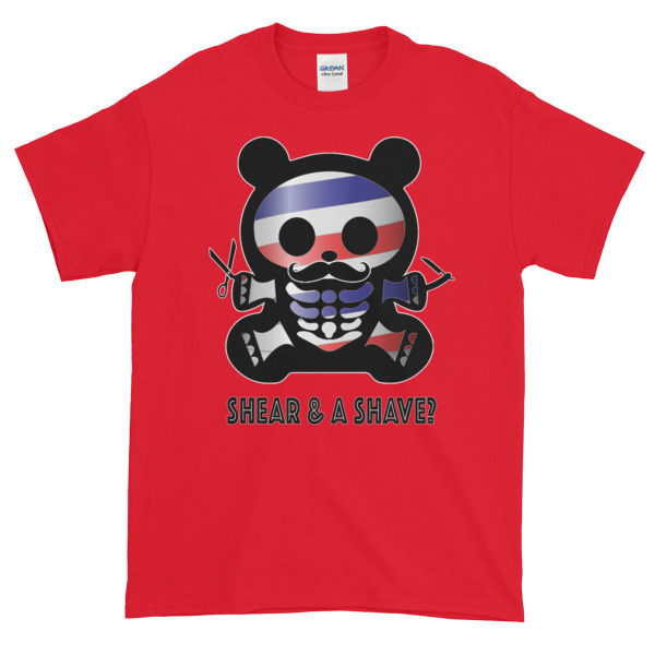 BBX BARBER BEAR – Unisex Classic Fit Tee