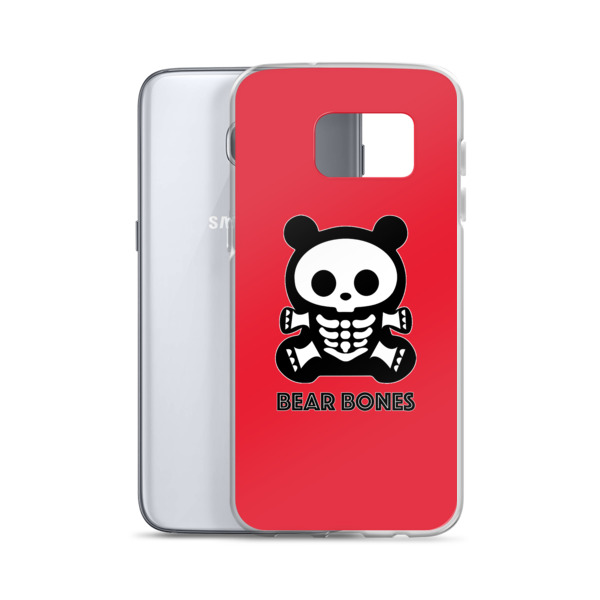 BB RED BEAR Samsung Case S7 – S8+