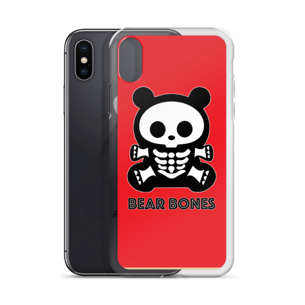 BB RED BEAR iPhone Case 5 – X