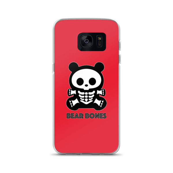 BB RED BEAR Samsung Case S7 – S8+