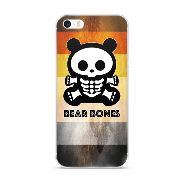 BB BEAR FLAG iPhone Case 5 – X