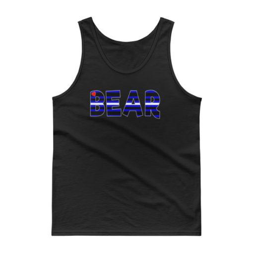 RB LEATHER BEAR – Unisex Classic Tank