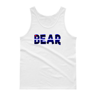 RB LEATHER BEAR – Unisex Classic Tank