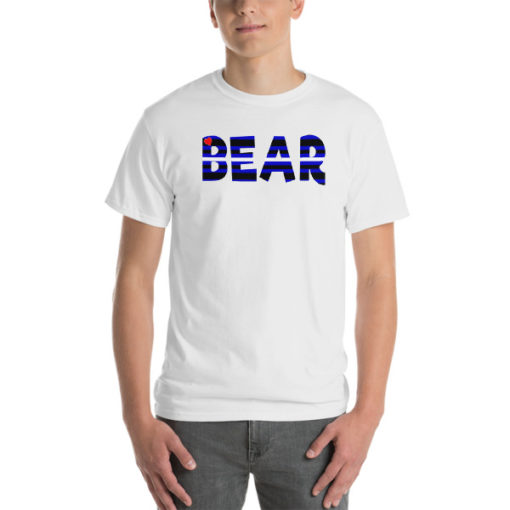 RB LEATHER BEAR – Unisex Classic Fit Tee