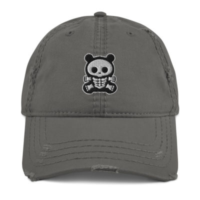 BB Bear Distressed Hat