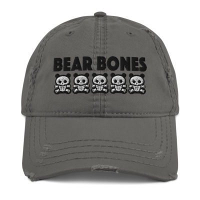 BB – Bears Distressed Hat