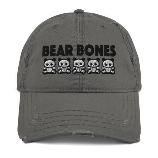 BB – Bears Distressed Hat