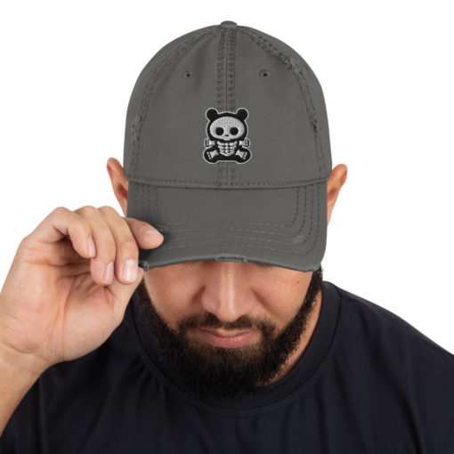 BB Bear Distressed Hat