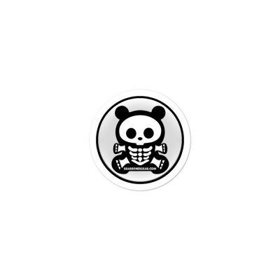 SBB – BEAR BONES BEAR Bubble-free sticker