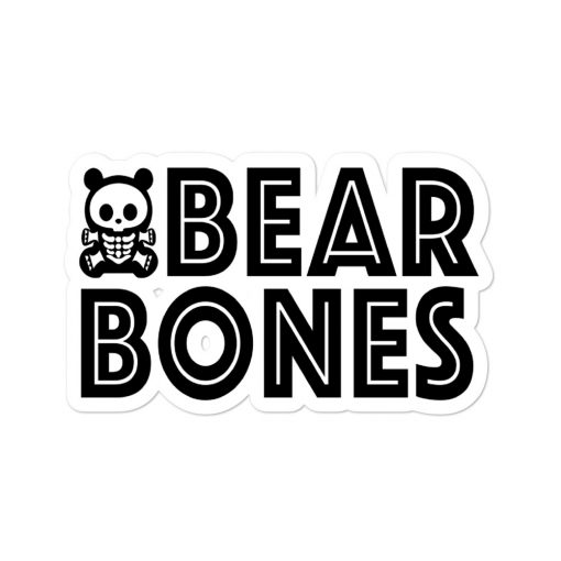 SBB – BEAR BONES 2 Bubble-free sticker