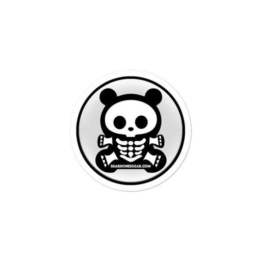 SBB – BEAR BONES BEAR Bubble-free sticker